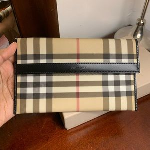 Authentic Burberry Wallet Pouch